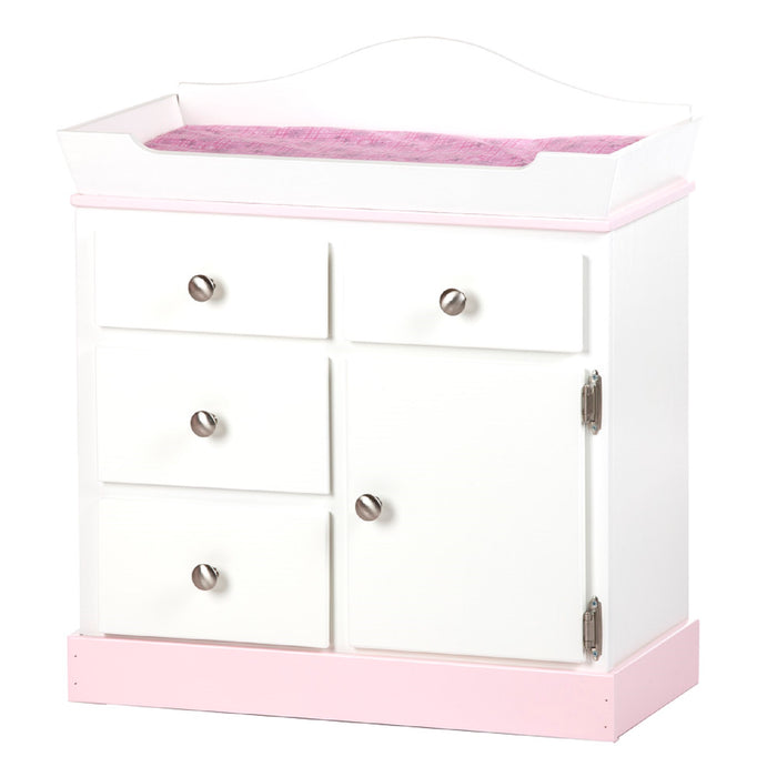 DELUXE DOLL CHANGING TABLE - Amish Handmade Furniture in 4 Finishes