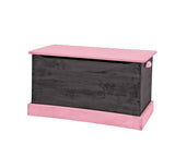WOOD TOY BOX ~ Amish Handmade Wooden Storage Chest in Vibrant Finishes