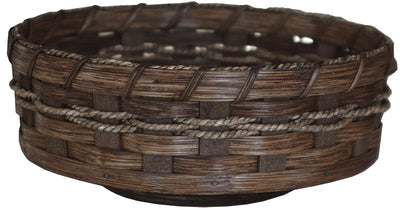 LAZY SUSAN - Amish Hand Woven Reed Table Turntable - 2 Sizes & 13 Finishes