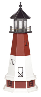 BARNEGAT NJ LIGHTHOUSE - 'Old Barney' New Jersey Working Replica