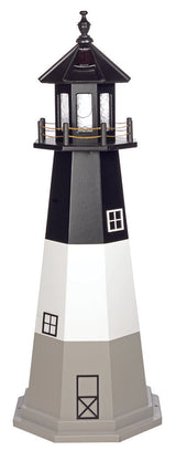 OAK ISLAND LIGHTHOUSE - Cape Fear North Carolina Working Replica
