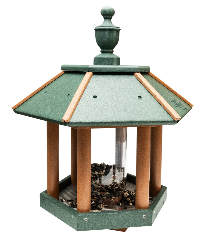 GAZEBO BIRD FEEDER - Weather Fade & Rot Proof Poly Vinyl Amish USA