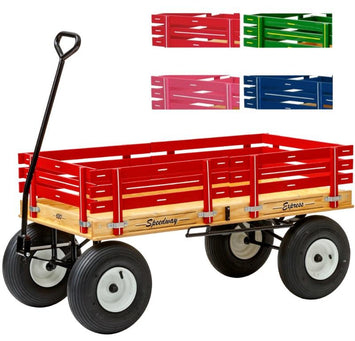 4' WAGON with HAND BRAKE - 48