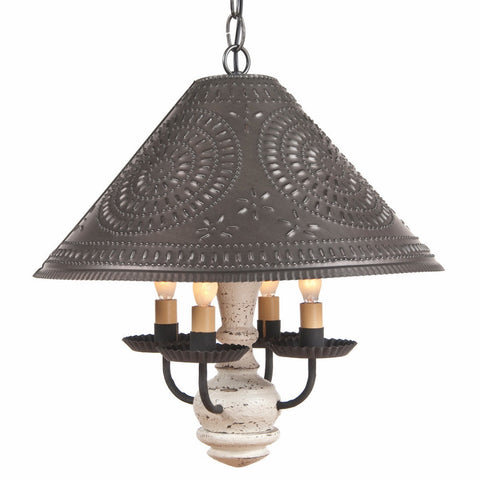 Homespun Lamp Shades Tin Or Metal Lamp Shades And Country