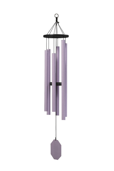 Canterbury Bells 49 inch Handmade Lavender Wind Chime