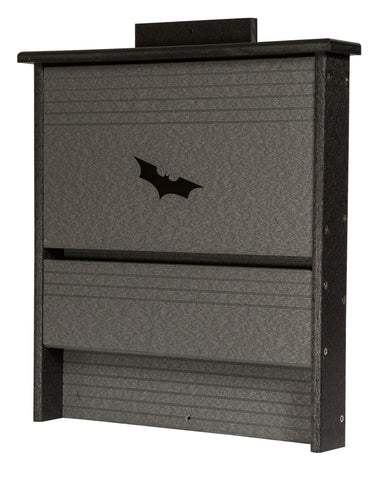 BAT HOUSE - 20 Colony Amish Handmade Insect Control - Custom Recycled Poly Colors