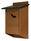 40 Colony LARGE BAT HOUSE - Backyard Mosquito Control - Handmade Recycled Poly