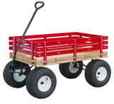 Amish Beach Garden Off Road Wagon Wide Mud Tires