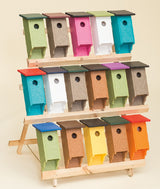 BLUEBIRD HOUSE - Amish Handmade Weatherproof Recycled Poly ~ 40 Color Choices