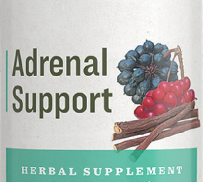 ADRENAL SUPPORT - Herbal Energy & Endocrine Support Blend