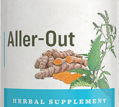 """ALLER-OUT"" - 8 Herb Allergy & Ragweed Allergies Support"