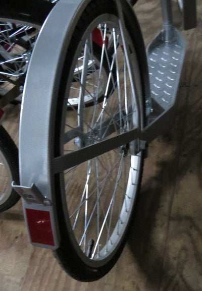"20"" ALUMINUM SCOOTER - Lightweight Silver Amish Foot Bike USA"