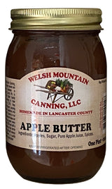 APPLE BUTTER - Amish Fresh Homemade Spread with No Preservatives USA