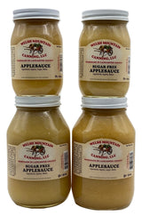 AMISH SUGAR FREE APPLESAUCE - 16oz Pint & 32oz Quart Jars Homemade in Lancaster USA