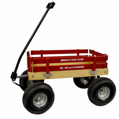 """BIGFOOT"" BERLIN FLYER PEE-WEE WAGON - Amish Handmade in 8 Bright Colors"