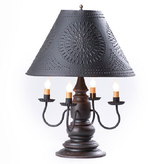 HARRISON COLONIAL TABLE LAMP with 17