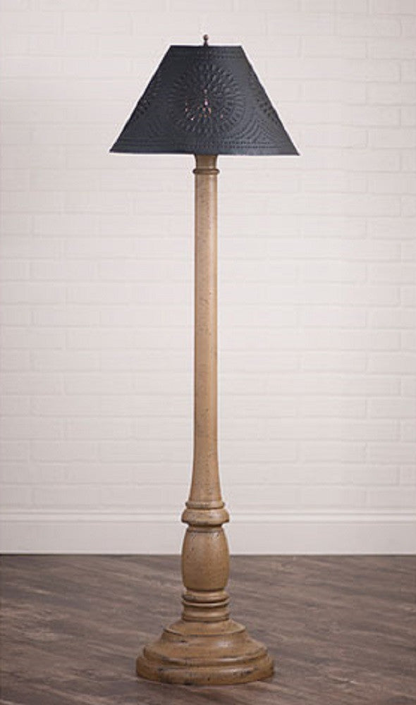 WOODSPUN COLONIAL FLOOR LAMP ~