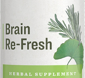 BRAIN RE-FRESH - Herbal Tonic Blend for Mental Clarity & Focus