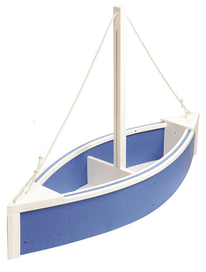 BOAT PLANTER - Nautical Flower Box 100% Recycled Poly in 14 Colors
