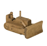 BULLDOZER WOOD TOY Amish Handmade Wooden Construction Truck Toys