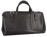LEATHER HANDBAG ~ Travel Duffle & Carry On Bag - USA Handmade