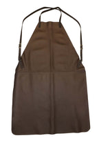 HEAVY DUTY LEATHER APRON ~ Adjustable w/ 2 Interior & 2 Pen Pockets