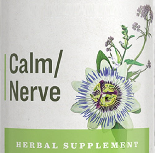 CALM NERVE - 9 Herb Tincure for Stress & Nerve Support