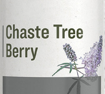 CHASTE TREE BERRY - Single Extract Tincture for Hormonal Balance Support