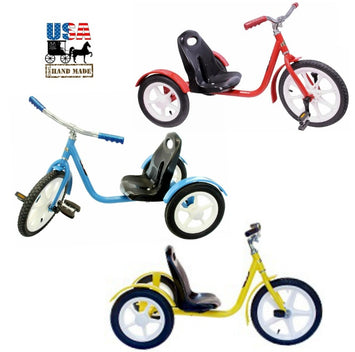 CHOPPER Style Tricycle - Amish Handcrafted Quality in 3 Colors