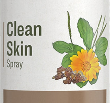 CLEAN SKIN SPRAY - Proprietary Blend of Herb Extracts as Hydrogen Peroxide Alternative