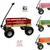 """BIGFOOT"" BERLIN FLYER WAGON - Children's Garden Beach ATV in 8 Bright Colors"
