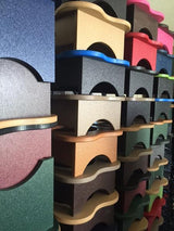 ELEVATED POLY DOG FEEDER ~ Choice of Height & 342 COLOR COMBOS Amish Handmade in USA