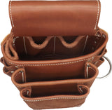 LEATHER TOOL POUCH - Amish Handmade Left & Right Side Work Bags