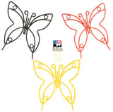 Wrought Iron Butterfly Garden Stake - Amish Handmade Lawn Wall Decor