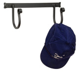 COAT & HAT RACK - Wrought Iron 2 Scroll Hooks Wall Mount Amish Handmade in USA