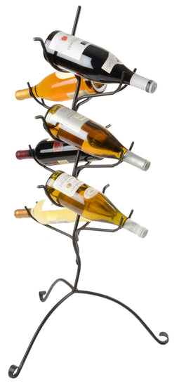 WINE BOTTLE FLOOR STAND - 37