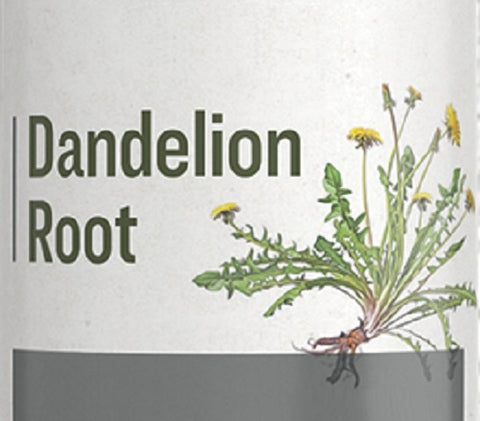 DANDELION ROOT - Healthy Digestion, Bowel & Liver Support Tonic