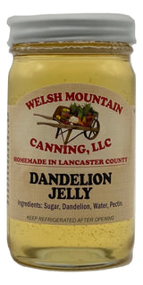 DANDELION JELLY - Amish Homemade Healthy Herbal Spread USA