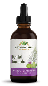 DENTAL FORMULA - Concentrated Herbal Formula with Black Walnut hull