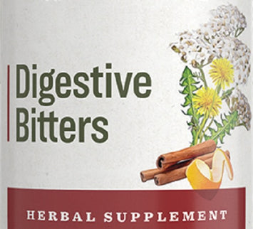 DIGESTIVE BITTERS - 10 Herbal Blend for Complete Digestion Support