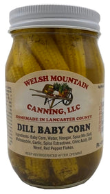 DILL BABY CORN - Nutricious Sweetcorn with NO SUGAR added