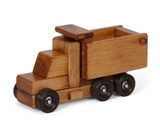 DUMP TRUCK - Working Wood Construction Toy