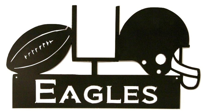 PHILADELPHIA EAGLES WROUGHT IRON WALL HANGING - NFL Football Decor