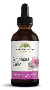 ECHINACEA GARLIC COMPOUND - 2 Immune System Support Powerhouses in 1