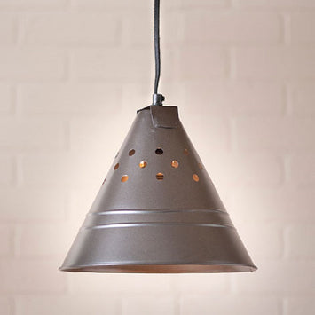 CONE PENDANT LIGHT -