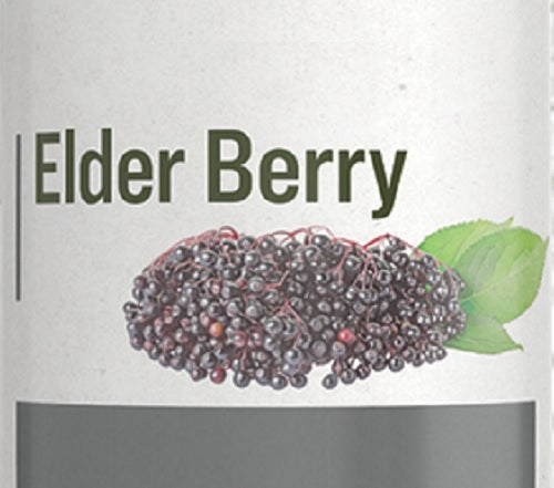 ELDER BERRY - Vitamin C & Flavonoid Rich Immune & Eye Health Support