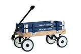 BERLIN FLYER PEE-WEE WAGON - Amish Handmade BLUE Children's Wagon