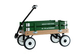 BERLIN FLYER PEE-WEE WAGON - Amish Handmade FARM GREEN Children's Wagon