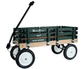 BERLIN FLYER CLASSIC WAGON - Amish Handmade Garden Cart in Hunter Green