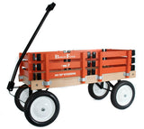 BERLIN FLYER CLASSIC WAGON - Amish Handmade in Orange & Black Orioles